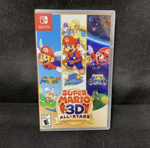 Super Mario 3D All Stars (Nintendo Switch) Physical Version / BRAND NEW for Sale in Reston, VA
