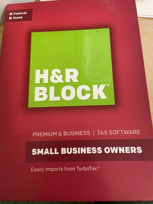 H&R Block 2016 tax software for Sale in Glendale, AZ