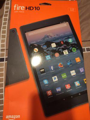 Amazon Fire HD 10 Tablet for Sale in Vallejo, CA