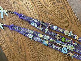 Tinker bell Disney trading pins and lanyards for Sale in Whittier,  CA