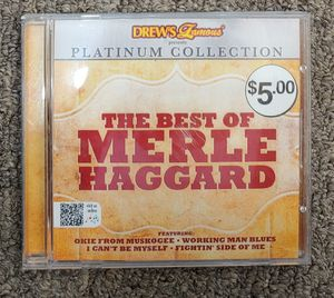 The Best Of Merle Haggard CD for Sale in Burlington, NC