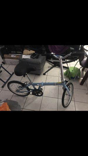 Bike with wide comfy seat & Folding New for Sale in Hialeah, FL
