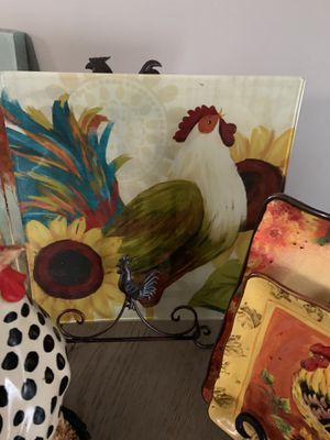 Rooster 🐔 themed kitchen decor for Sale in Columbus, OH