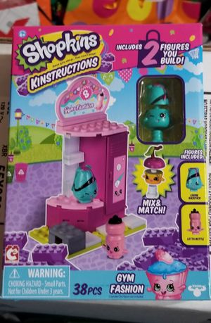 Shopkins Legos Gym Fashion Set for Sale in Gainesville, VA