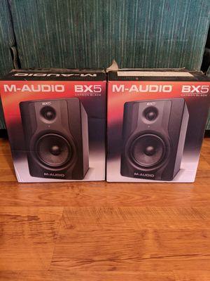 "M-AudioBX5 Carbon Black Studio Monitor Speaker 5"" for Sale in Whittier, CA"