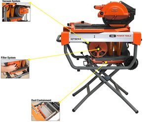 IQ POWER TOOL IQTS244 DRY CUT TILE SAW for Sale in Gresham, OR