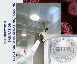 Fogging disinfectant services for Sale in Riverside, CA