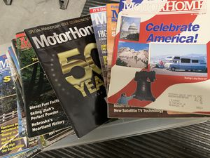 Vintage motorhome magazine 1990. 1991, 1995 for Sale in Henderson, NV