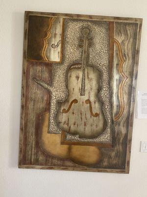 Wall art, modern, music, home decor for Sale in Phoenix, AZ