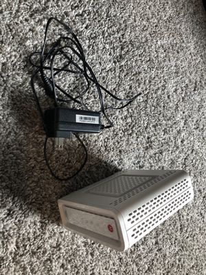 Motorola SURFboard Modem router - SB6141 for Sale in Austin, TX