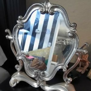 Antique Italian Vanity Mirror On Stand for Sale in Houston, TX