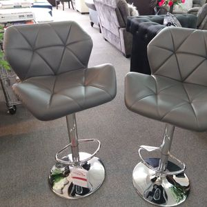 Grey bar stool for Sale in Lilburn, GA