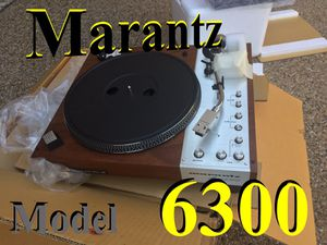 Marantz turntable record player model 6300 for Sale in Allen, TX