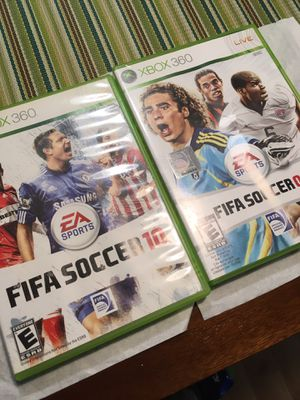 Xbox 360 games FIFA soccer for Sale in Columbus, OH