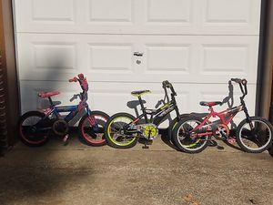 "16"" kids bicycle Spider-Man, Teenage Mutant Ninja Turtles, Star Wars the Force Awakens for Sale in Chattanooga, TN"