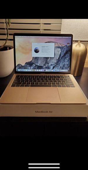 "Macbook Air (Retina, 13"", inch) bought in 2019 Rose Gold 1.6ghz 128flash 8ram perfect condition for Sale in San Diego, CA"