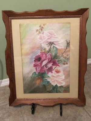 1954 antique chalk drawing for Sale in Harlingen, TX
