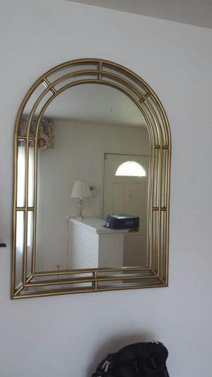 Art Deco gold frame mirror for Sale in Arlington, VA