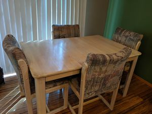 Four chair dining set - you pick up! for Sale in Port Orchard, WA