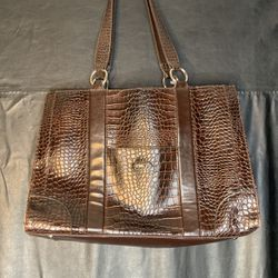 Brown Snakeskin Tote Bag for Sale in Columbia,  MD