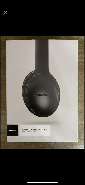 Bose QuietComfort 35 ii noise cancelling for Sale in Fresno, CA