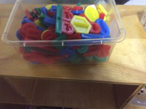 Kid Plastic Puzzle Game for Sale in Hyattsville, MD