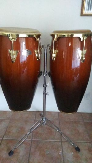 LP Caliente Congas with Stand for Sale in Hollywood, FL