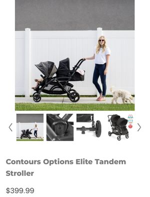 Double baby stroller for Sale in Stanton, CA