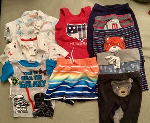 Baby Boy's Clothes (6 months) - 10 Pieces for Sale in Chino Hills, CA