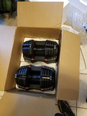 Weider Select a Weight 50 Lb. Adjustable Dumbbell Set for Sale in Spring, TX