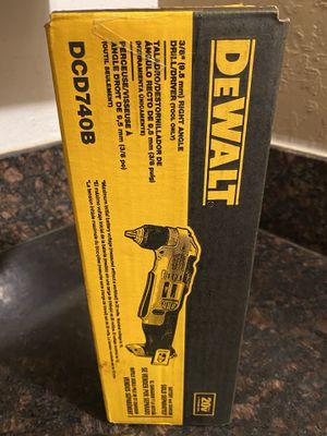 """Dewalt 3/8"""" RIGHT ANGLE DRILL/DRIVER for Sale in Sacramento, CA"""
