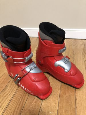 Kids ski boots size 20 (13 1/2) for Sale in Rockville, MD