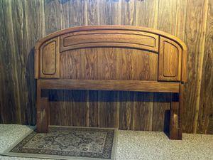 Queen size Oak Headboard for Sale in Pasco, WA