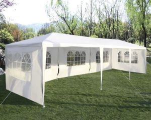 Brand New 10'x30' Heavy Duty Canopy Gazebo Outdoor Party Wedding Tent Pavilion with 5 Removable Side Walls for Sale in Irvine, CA