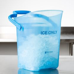 San Jamar SILD6000 6 Gallon Light Duty Ice Tote Bucket for Sale in Addison,  IL