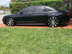 Audi A8 Spec 1 staggered *NEW SETUP* not even 3wks old for Audi A8 Sport/L front: 22x9-265/30/22, rears 22x11, 305/25/22. If you're looking for that for Sale in Miami, FL