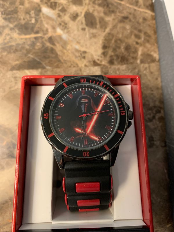 Limited edition Kylo ren Star Wars watch (with box)
