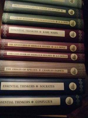 Books good titles poe ac doyle karl marx 15 per pocket book for Sale in Battle Creek, MI