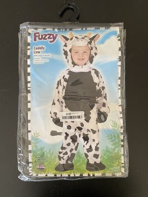 NEW FUN WORLD CUDDLY COW TODDLER COSTUME, 3T-4T for Sale in Lomita, CA