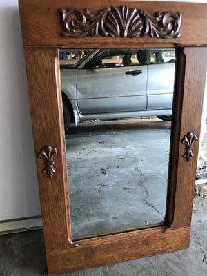 Antique oak mirror. for Sale in Lexington, KY