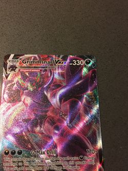 Very Rare Grimmsnarl Vmax Pokémon Card for Sale in Mercer Island,  WA