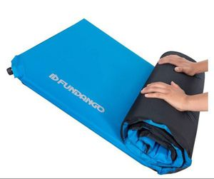FUNDANGO Extra Long Self Inflating Foam Camping Sleeping Pad Backpacking, Hiking, Outdoor, 2 Inch Thick Insulated Self Inflatable Air Mattress Pad for Sale in Whittier, CA