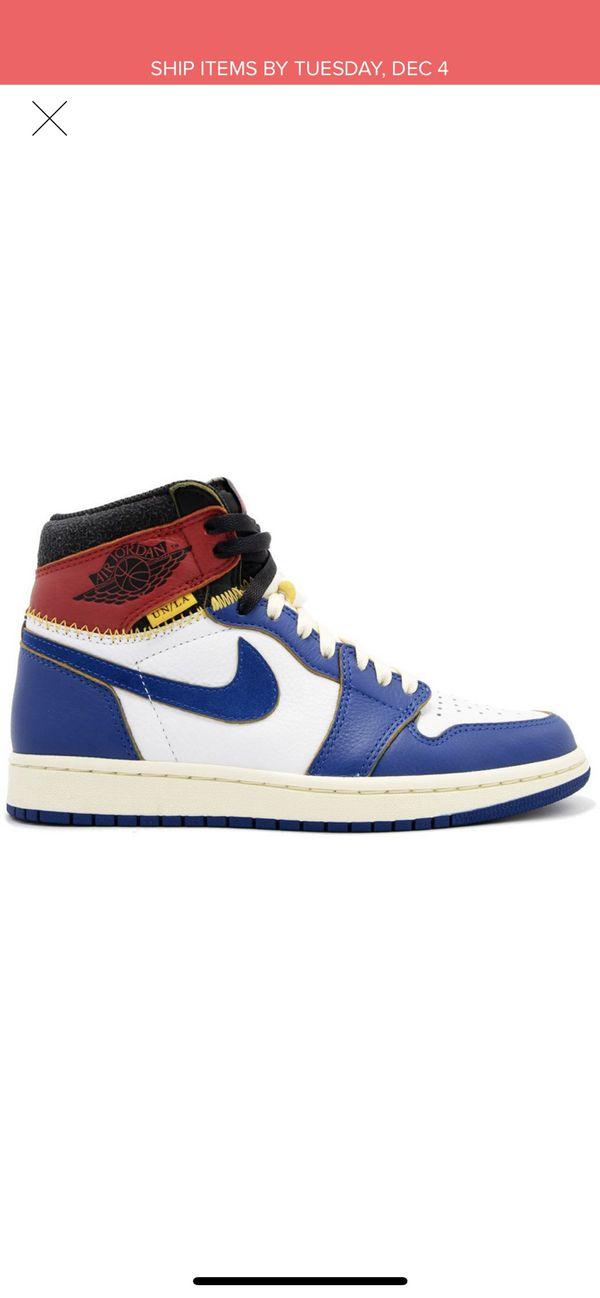 Nike Jordan 1 Union LA exclusive size 10.5