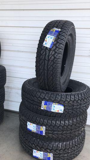 285 75 16⚡️Allterrain 💥10 ply ⚡️4 new tires⚡️2 years warranty for Sale in Arlington, TX