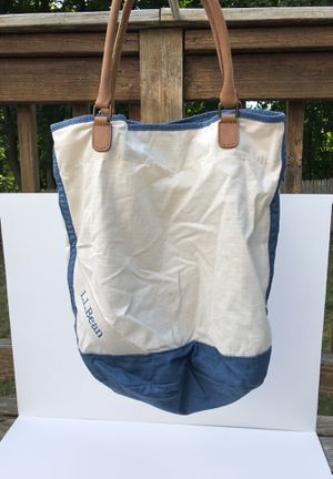 LL Bean tote bag for Sale in Braintree, MA