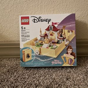 LEGO Belle's Storybook Adventures Disney Princess (43177) for Sale in Humble, TX