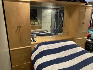 Bed frame and dresser for Sale in Rochester, NY