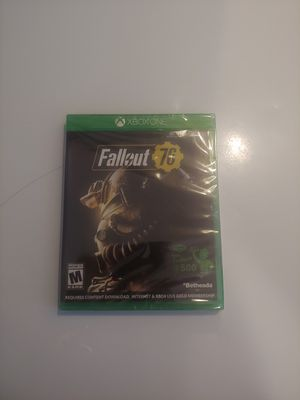 Fallout 76 Xbox One New for Sale in Montgomery, AL
