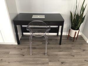 Espresso Writing/Parsons Desk for Sale in Corona, CA