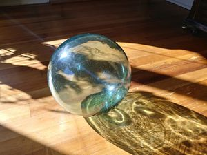 large antique japanese glass float for Sale in Ridgefield, WA
